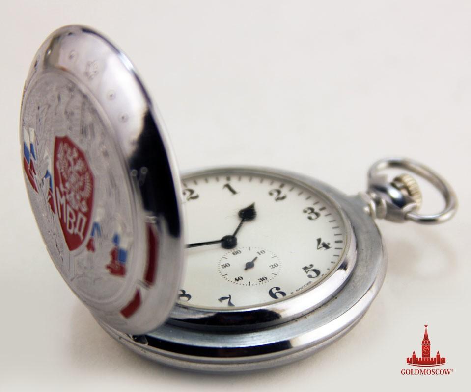 Карманные часы «Герб МВД России»