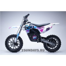 Детский электромотоцикл HOOK DIRT BLUE 24V