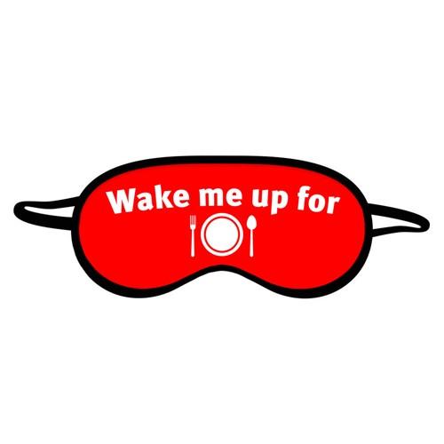 Маска для сна Wake me up for