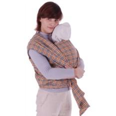 Бежевый слинг-шарф Уют