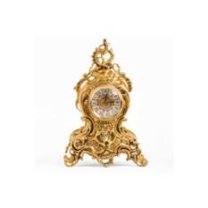 Золотистые бронзовые каминные часы Gift