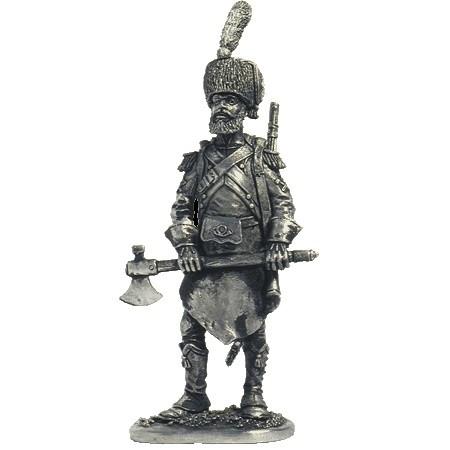 Сапёр лёгкой пехоты. Франция, 1809-13 гг.