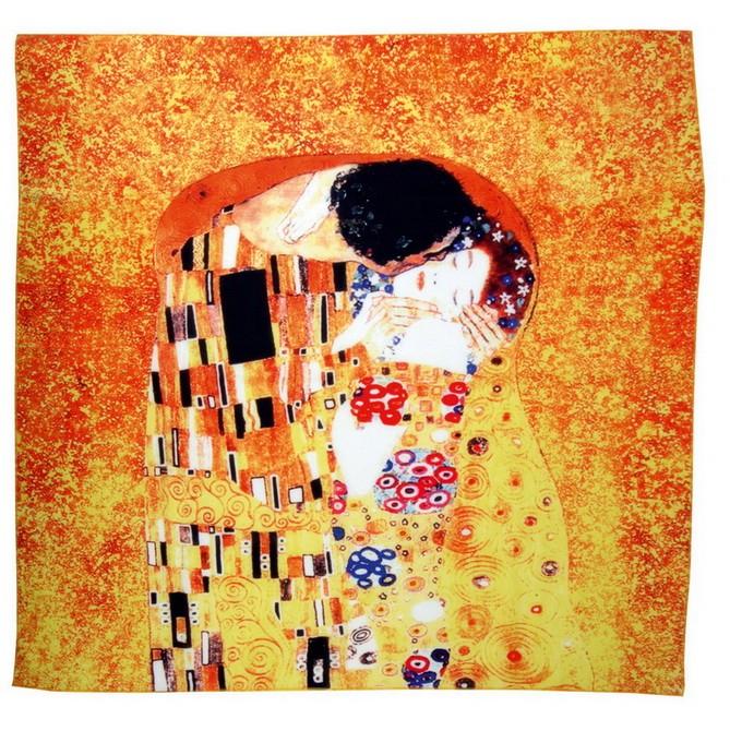 Набор Климт.Поцелуй: платок, складной зонт