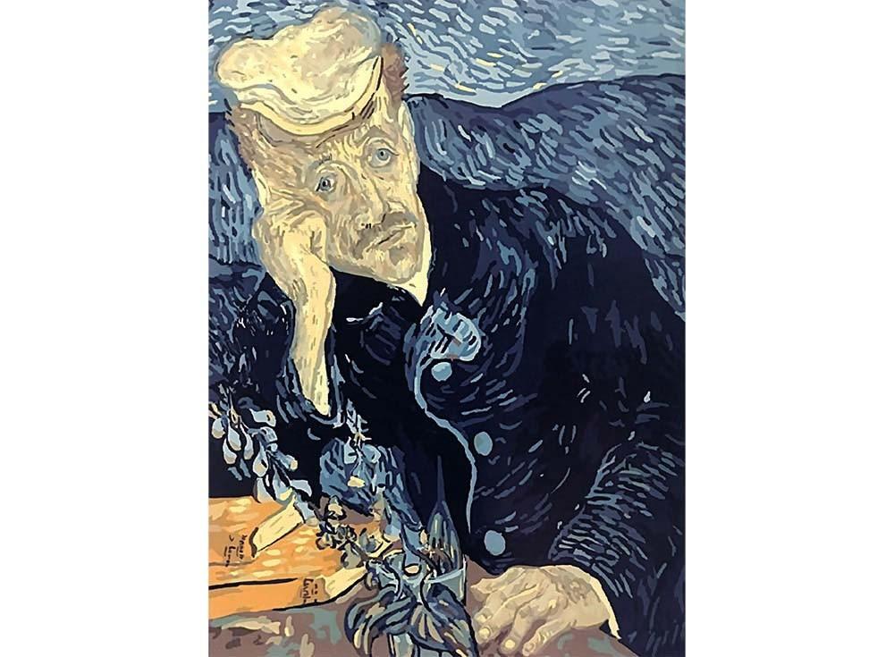 Картины по номерам «Портрет доктора Гаше»