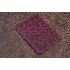 Фиолетовый вертикальный держатель для карт