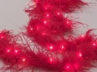 Электрогирлянда «Боа» (красная) на 40 ламп