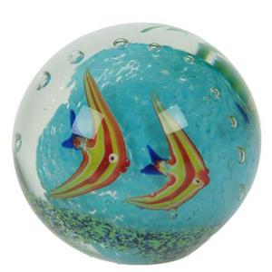 Шар стеклянный «Подводный мир»