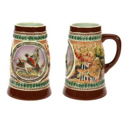 Пивная кружка коллекционная «Охотничья»