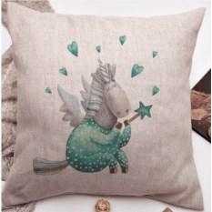 Декоративная подушка Единорожка мечтает