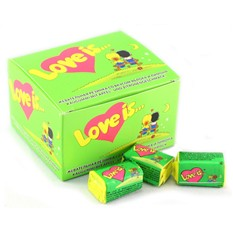 Блок жвачек Love is Яблоко-Лимон (20 шт.)