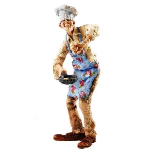 Комичная статуэтка Готовка на отлично, 22 см