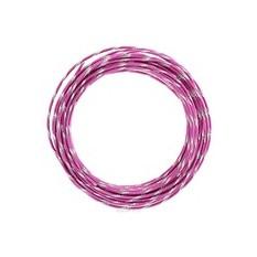 Проволока для рукоделия Астра, цвет: фуксия (005), 2 мм х 10 м.