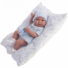 Кукла-младенец Мальчик Нико в голубом