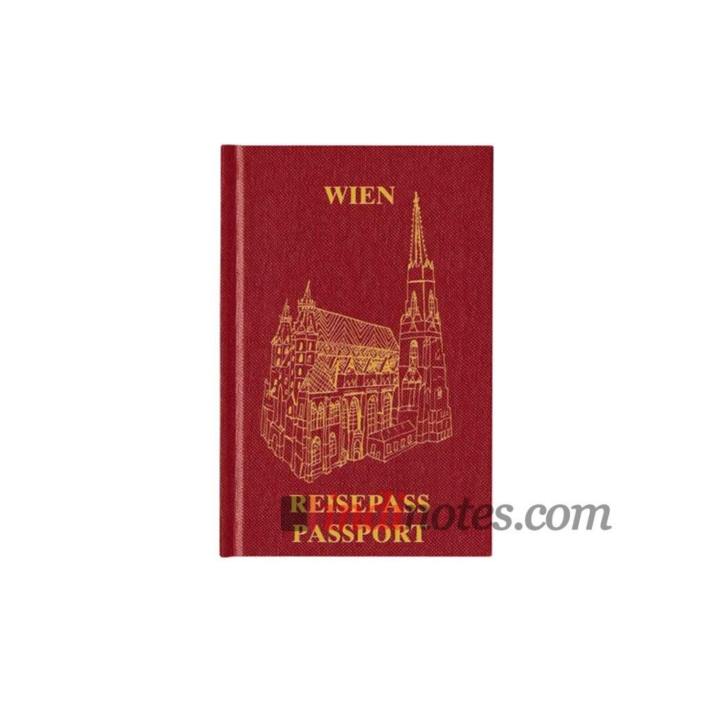 Записная книжка Passport Wien от teNeues