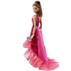 Кукла Barbie в вечернем платье-трансформере от Mattel