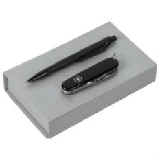 Набор для мужчины Swiss Made из офицерского ножа и ручки