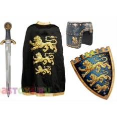 Детский маскарадный костюм рыцаря трех львов