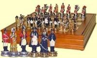 Настольная игра в шкатулке Шахматы, Наполеон