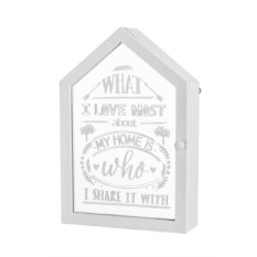 Белая ключница Дом
