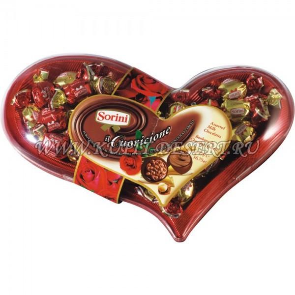 Шоколадные конфеты Cuoricione Sorini