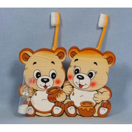 Подставка для зубных щёток «Мишки»