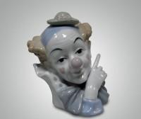 Фарфоровая статуэтка ''Клоунада''