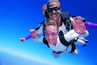 Сертификат Прыжок с парашютом в тандеме