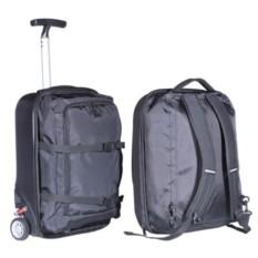 Чёрный чемодан на колесах Sky partner 2 in 1