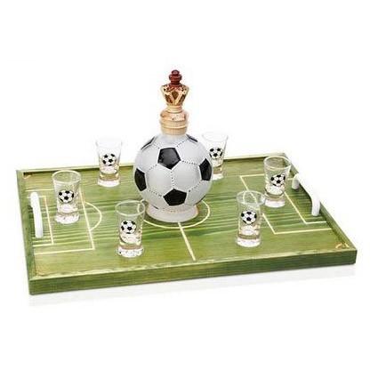 Набор рюмок «Футбольное поле»