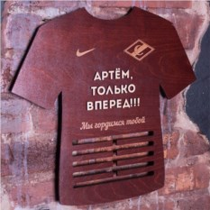 Медальница Футболка