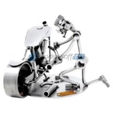 Статуэтка из металла Ремонт мотоцикла