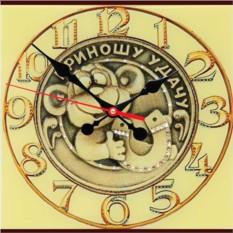 Настенные часы с кристаллами Swarovski Удачное время