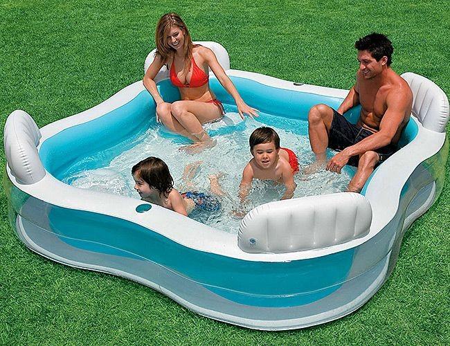 Надувной бассейн Семейная идиллия