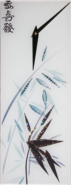 Часы с кристаллами Swarovski Бамбук