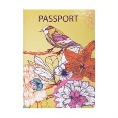Обложка для паспорта Miusli 'Bird