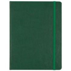 Зеленый блокнот в клетку Freenote