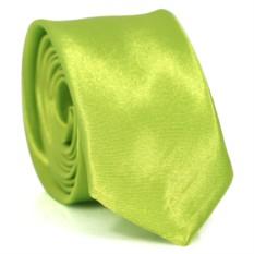 Узкий галстук (зеленый)