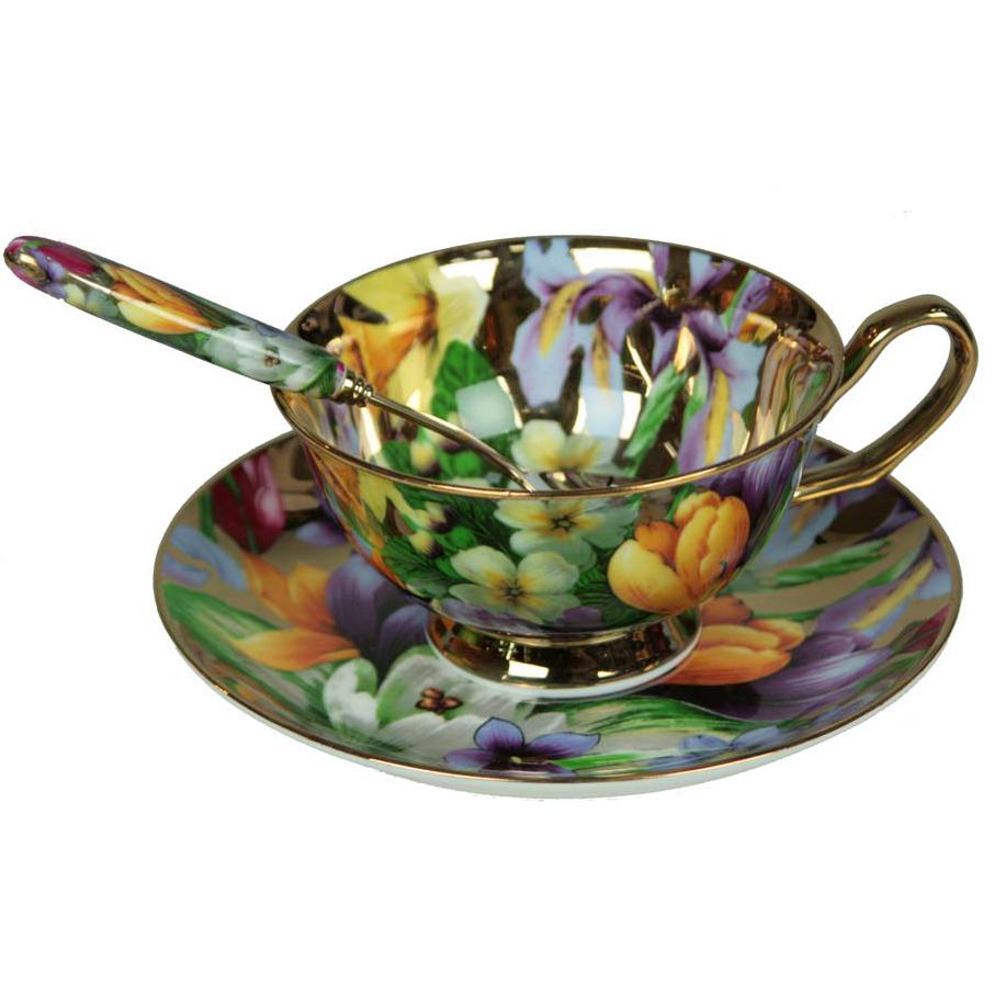 Подарочный набор «Чайное соло», фарфор