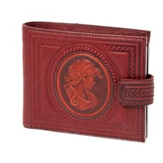 Кожаный кошелек «Камея»