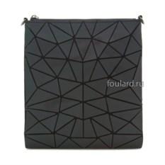 Черная женская сумка из силикона Sabellino