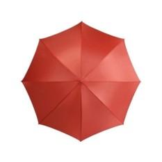 Полуавтоматический красный зонт-трость