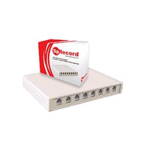Система записи телефонных разговоров SpRecord A8