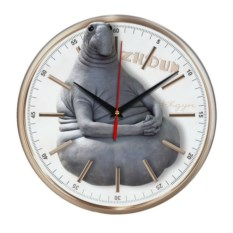 Настенные часы Ждун. Zhdun glass