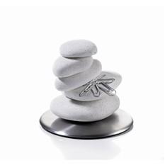 Настольный аксессуар «Время собирать камни», белый