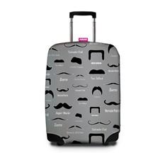Чехол для чемодана SUITSUIT - Famous Moustache