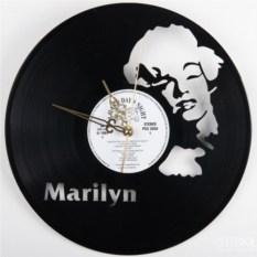 Часы из виниловой пластинки  Пупупиду