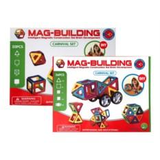 Набор 36 и 20 деталей конструктора Mag-Building