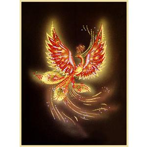 Хрустальная картина «Жар-Птица»