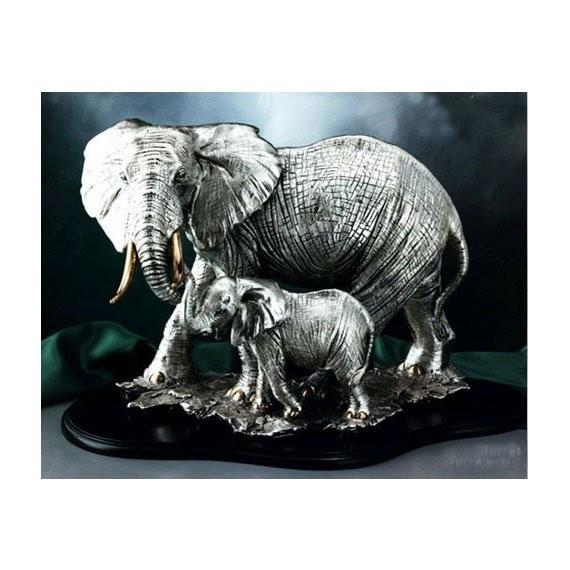 Статуэтка Brunel Слониха со слоненком