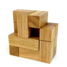 Деревянная головоломка Зимний кубик